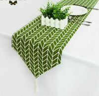 Christmas Tables Place Mat Dining Decors Creative Home Long Fabric Table Runners