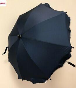 OMBRELLINO parasole universale per passeggino col blu OS111252 PICCI -new-Italia