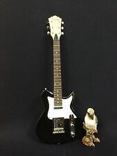 3/4 Caraya Short Scale Tele-Style Electric Guitar,Black+Free Bag,Strap. Ei38 BK
