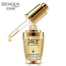 Skin Care 24K Active Gold Face Serum 30ml Anti-Aging Anti Wrinkles Moisturizing