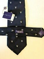 NEW RALPH LAUREN Purple Label Mens Silk Tie Made In Italy 165.00 MSRP