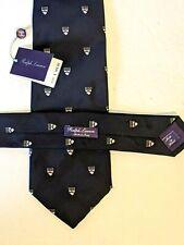 NEW RALPH LAUREN Purple Label Mens Silk Tie Made In Italy 165.00 MSRP
