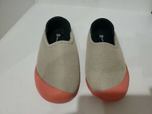 Mohabis summer womens beige slip on shoes size 37/7 M