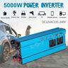 Power Inverter 3000W 4000W 5000W DC12V a AC220V Potenza Convertitore con LCD Blu