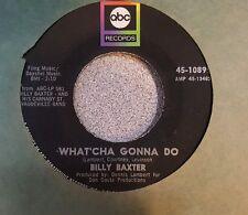 Billy Baxter – The Volunteer Firemen's Association / What'cha Gonna Do   (VG++)