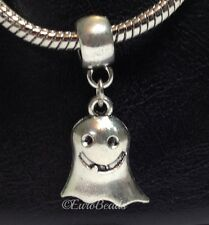 GHOST_Bead For European Charm Bracelet_Halloween Spirit Paranormal Haunted_J54