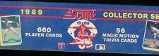 1989 SCORE BASEBALL COMPLETE FACTORY SEALED SET 1-660 CRAIG BIGGIO RC