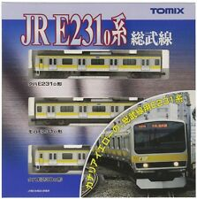 Tomix 92343 Jr Commuter Train Series E231-0 'Sobu Line' Basic 3 Japan F/S J73001