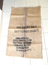Sack jute coffee capacity 50 kg UGANDA furniture