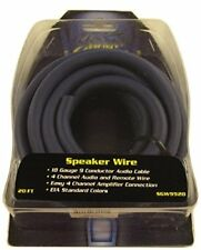 STINGER SGW9920 9 CONDUCTOR SPEEDWIRE 20 FOOT ROLL BLUE AMPLIFIER WIRE 4 CHANNEL