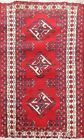 Memorial Deal Vintage Traditional Geometric Oriental Area Rug Hand-knotted 2'x3'