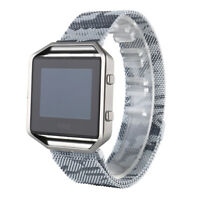 Milanese Magnetic Loop Stainless Steel Band Strap For Fitbit Blaze Bracelet LN