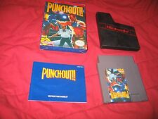 NES Nintendo Punch-Out Complete In Box CIB