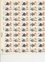 MNH SHEETS OF MILITARY UNIFORMS SCOTT NOS. 1565-1568