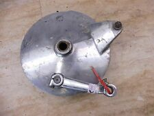 1974 Yamaha RD350 RD250 RD 350 Y646' rear wheel brake plate #2