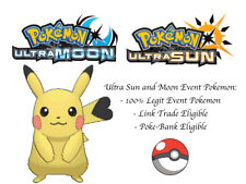Pokemon Ultra Sun and Moon Surf and Fly Pikachu Japan Event Pokemon