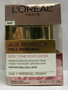 L'Oreal Paris Skin Care Age Perfect Cell Renewal Rosy Tone Moisturizer 1.7oz