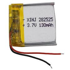3.7V 130 mAh Polymer Li Battery For Mp3 watch Camera Headset pen glasses 282525