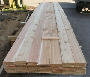 British Western Red Cedar Tongue And Groove Timber Cladding (18.5m²) - TGV