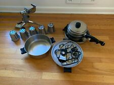SALADMASTER Stainless Steel Cookware Set & Extras