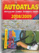 """Autoatlas Deutschland Schweiz Österreich Europa & Marco Polo """"Radtouren..."""""""