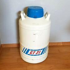 Liquide Air Cryopal Gt21 Cryogenic Liquide Nitrogen Tank Container Dewar