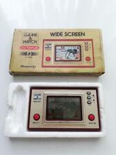 NINTENDO GAME & WATCH OCTOPUS OC-22 1981 Wide screen GOLD #48