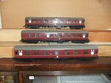 Hornby 'The Manxman' BR Mk1 Maroon Coach set, not boxed