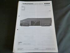 Original Service Manual Grundig Fine Arts CF 4