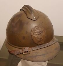 Elmetto mod. Adrian Belgio WW1 grande guerra completo