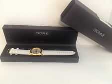 Giovine Watch White Rubber Band With Box