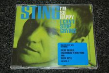 The Police - Sting / I'm So Happy + 3 tracks / UK CD single / A&M 5820292
