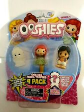 Ooshies Pencil Toppers 4 Pack - Disney Princess New 3 visible plus one mystery