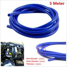 6mm Silicone Vacuum Hose Pipe Car Air Water Coolant Dump Valve Oil Turbo Tube 5M
