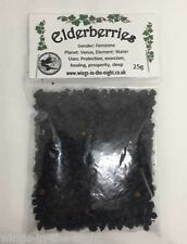 ELDERBERRIES Dried Magical Herb - Protection/Healing/Exorcism ~ Witchcraft/Wicca