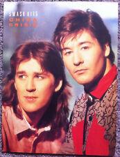 CHINA CRISIS - 1985 Full page UK magazine poster