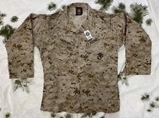 More details for us marine corps usmc marpat camouflage mccuu blouse / coat marked med-reg