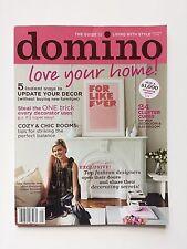 Domino Magazine September Sept 2006 Home House Interior Decorating Style 9 / 06