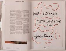 POP MAGAZINE #27 2012 Tina Turner YAYOI KUSAMA Special Louis Vuitton Sarah Lucas
