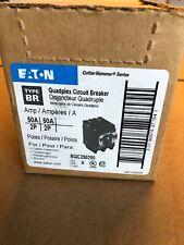 Eaton BQC250250 Plug-On Type BQC Quadplex Circuit Breaker 4-Pole 50 Amp Lot Of 5