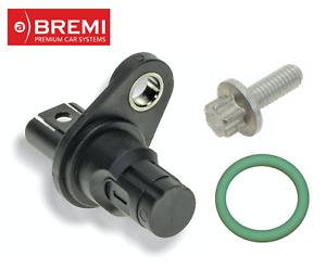 BREMI Crankshaft Crank Position Sensor with o-ring and Bolt for select BMW