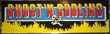 "Ghost'n Goblins Arcade Marquee 26""x8"""