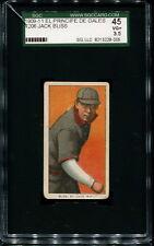 1909-11 T206 El Principe de Gales:   Jack Bliss  SGC 45 3.5 VG+   EPDG