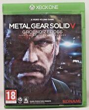 METAL GEAR SOLID V 5 - GROUND ZEROES pour console XBOX ONE - En excellent état.