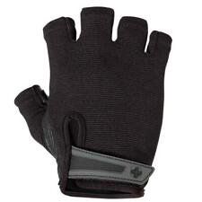 Harbinger Mens Power Weight Lifting Half Finger Gloves Fitness Adjustable Wrist