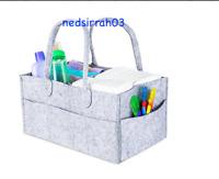 Baby Diaper Caddy Portable Nursery Car Organizer Tote Shower Registry Bonus Gift