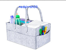 Baby Diaper Caddy Portable Nursery Car Organizer Tote Shower Registry Bonus Gift