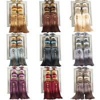 1 Pair Luxury Tassel Curtain Rope Tieback HoldBacks Tie Backs Home Decor 75cm
