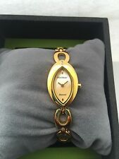 Gold Plated Case Luxury Oval Wristwatches