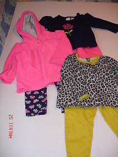 3 Girls Outfits Fall/Winter/Spring - Size: 18 Months,